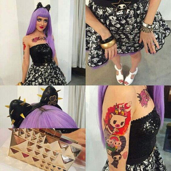Tokidoki 10 Anniversary Black Label Doll #Cosplay #Costume #purple