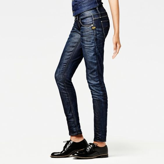 g star raw lynn skinny wmn women jeans love the look of these jeans my style. Black Bedroom Furniture Sets. Home Design Ideas