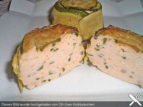 Lachs-Zucchini-Pastetchen (Rezept mit Bild) von Hobbykochen   Chefkoch.de