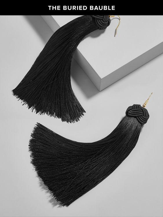 Taylah Tassel Earrings