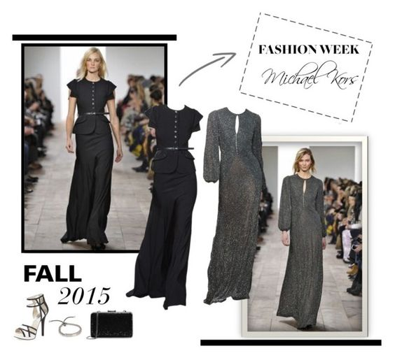 """Fashion Week Fall 2015"" by lipservicebymel ❤ liked on Polyvore featuring Michael Kors and MICHAEL Michael Kors"