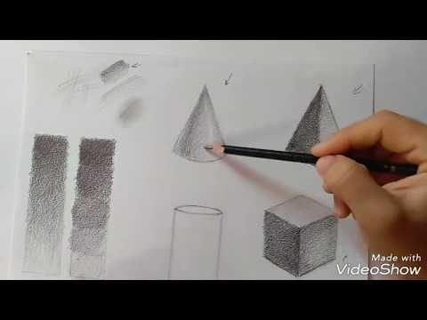 كورس الرسم للمبتدئين حلقة 3 تظليل الاشكال الهندسية المجسمة Youtube Human Draw