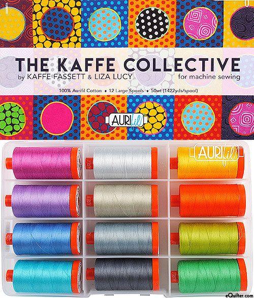 Aurifil Mako Cotton Thread Solid 50wt 1422yds Shining Green