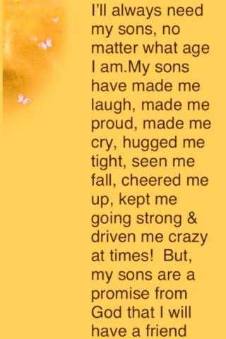 My sons are my heart and soul. My whole world and what keeps me going in this crazy life! ❤️