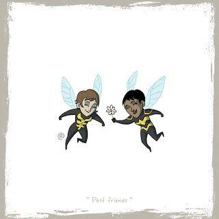 LITTLE FRIENDS - Wasp & Bumblebee