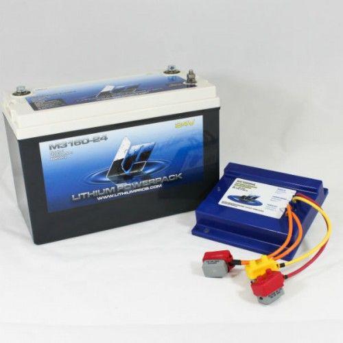 M3160 24ck 24v 60ah Trolling Battery Kit Trolling Motor Lithium Ion Batteries Boat Storage