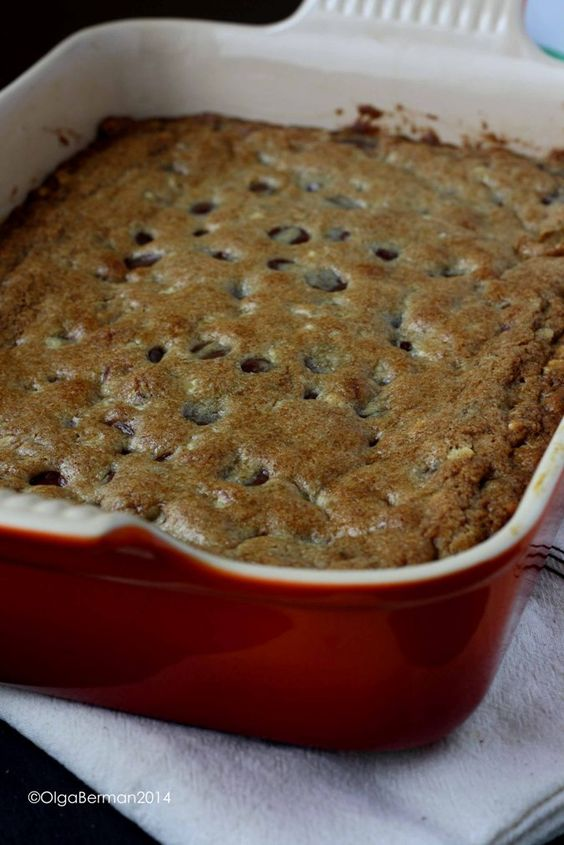 Chocolate Chunk Blondies! | BC Recipes You Made ...