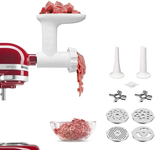 New Antree Meat Grinder Attachment Fits Kitchenaid Stand Mixer