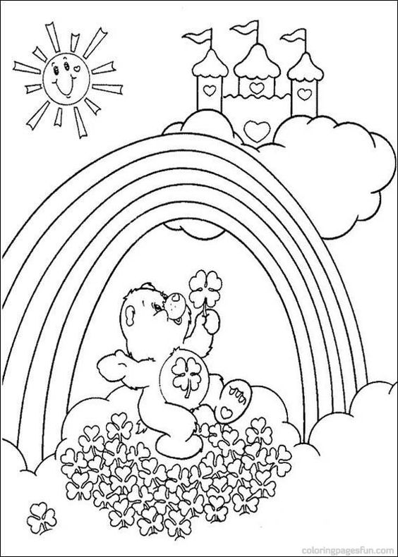 Care Bears Coloring Pages 34