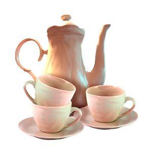 Teapot/cups