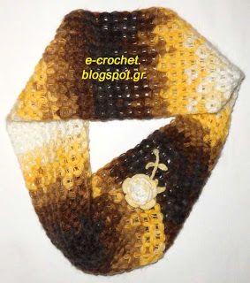 Eternity Scarf with original stitch