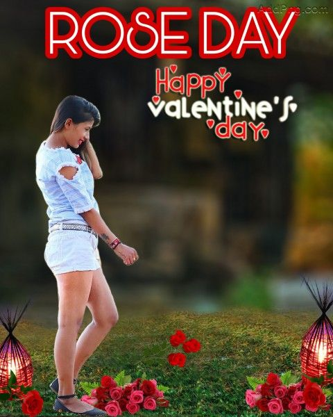 2 Valentine S Day Editing Background Happy Rose Day Photo