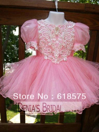 Pink Puffy Dress Promotion-Shop for Promotional Pink Puffy Dress ...