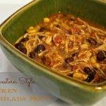 Slow Cooker Southwestern Style Chicken Tortilla Soup