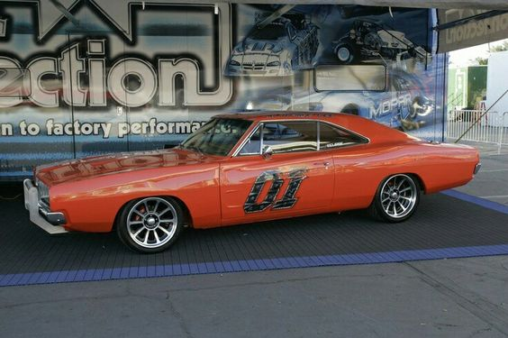 Updated Dodge Charger - General Lee..