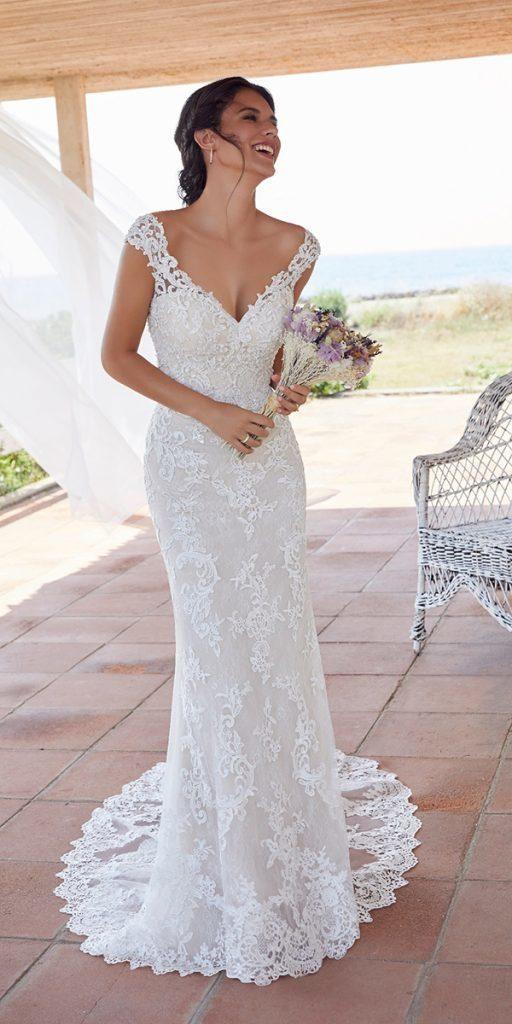30 Wonderful Beach Wedding Dresses For Hot Weather Affordable Wedding Dresses Wedding Dress Cap Sleeves Beach Style Wedding Dresses