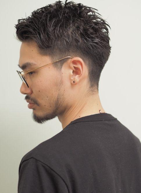 刈り上げグラデーションベリーショート 髪型メンズ メンズ ヘア