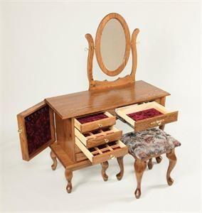 jewelry vanity dressing table