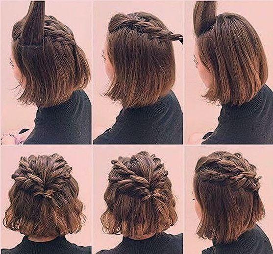 Hochsteckfrisur Kurze Haare Hochsteckfrisuren Kurze Haare Kinderfrisuren Kurze Haare Flechten