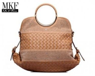 TumbleDeal.com - MKF Collection Camuto Handbag with Removable Strap- Tan