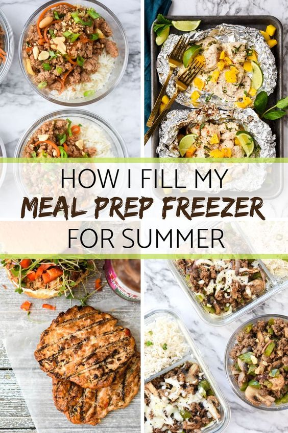 How I fill my Meal Prep Freezer for Summer! - Meal Plan Addict