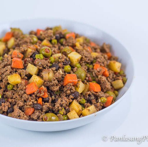 Picadillo Recipe Panlasang Pinoy Recipe Picadillo Recipe Beef Giniling Recipe Ground Pork Recipes