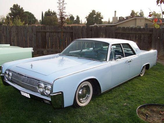 Figg's powder blue 1962 Lincoln Continental