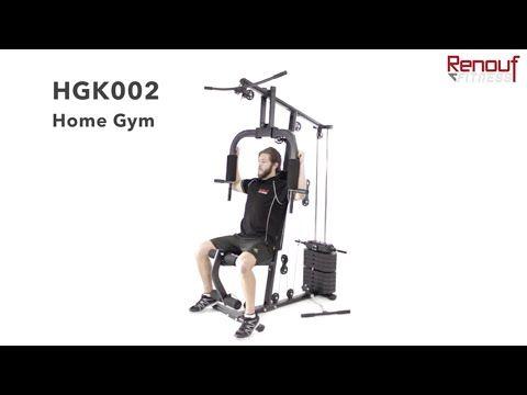 Hgk002 Home Gym Renouf Fitness Youtube Gym Home Gym Fitness