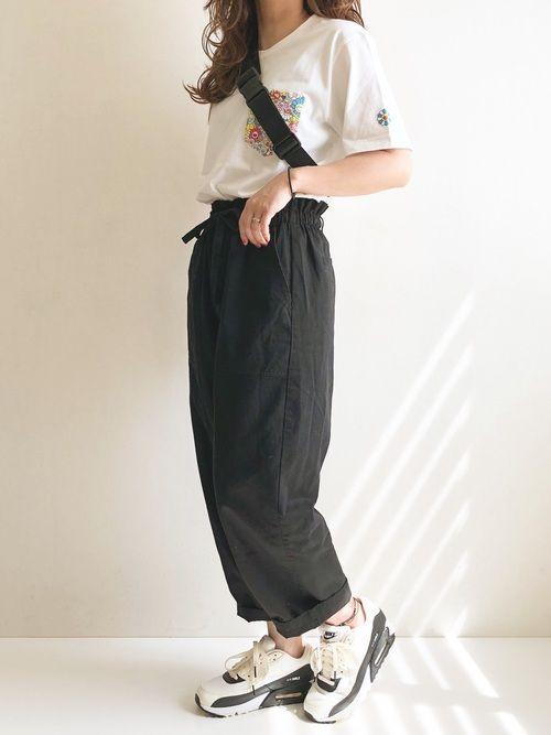 ayumi ユニクロのtシャツ カットソーを使ったコーディネート wear シャツ カットソー tシャツ シャツ