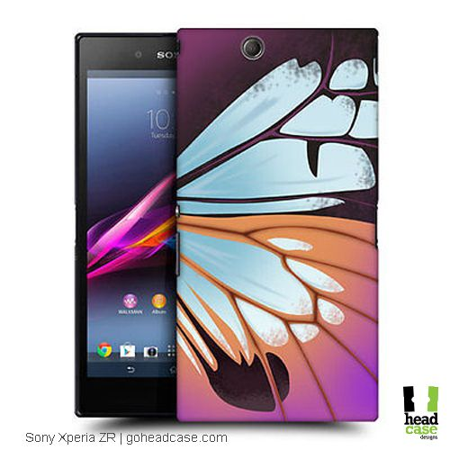 Get a closer look to one of nature's most enchanting creatures as they spread their wings in this collection of Head Case Designs Illustrated Butterfly Wing for Sony Xperia Z Ultra