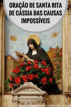 Oração de Santa Rita de Cassia das Causas Impossíveis. #biografia #oração