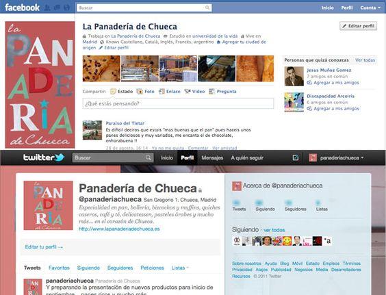 100% activas en redes sociales: Facebook (https://www.facebook.com/lapanaderiadechueca), Twitter (https://twitter.com/panaderiachueca), Foursquare, Blogger (http://lapanaderiadechueca.blogspot.com.es), Tuenti, Youtube, Google+...