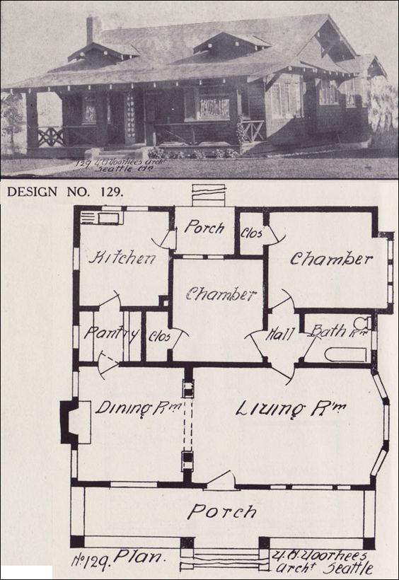 Western homes home builder and bungalow house plans on for California bungalow house plans