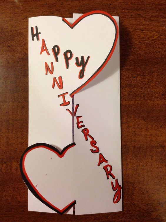 31st Wedding Anniversary Gift Ideas For Parents : ... anniversary diy anniversary cards for parents parent anniversary gift