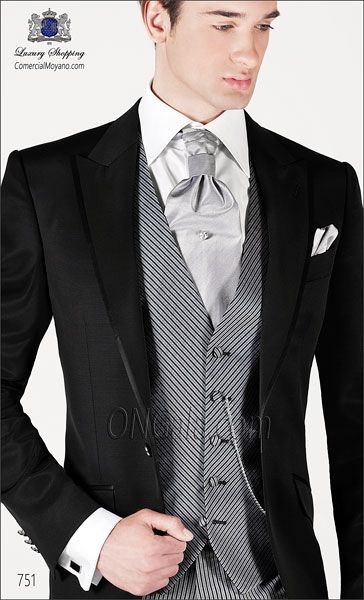 Traje de novio negro 751 ONGala Wedding suit