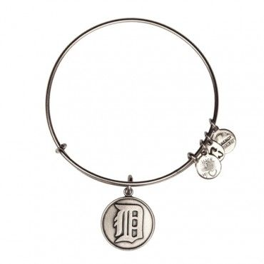 Alex and Ani- Detroit Tigers Cap Logo Charm Bangle