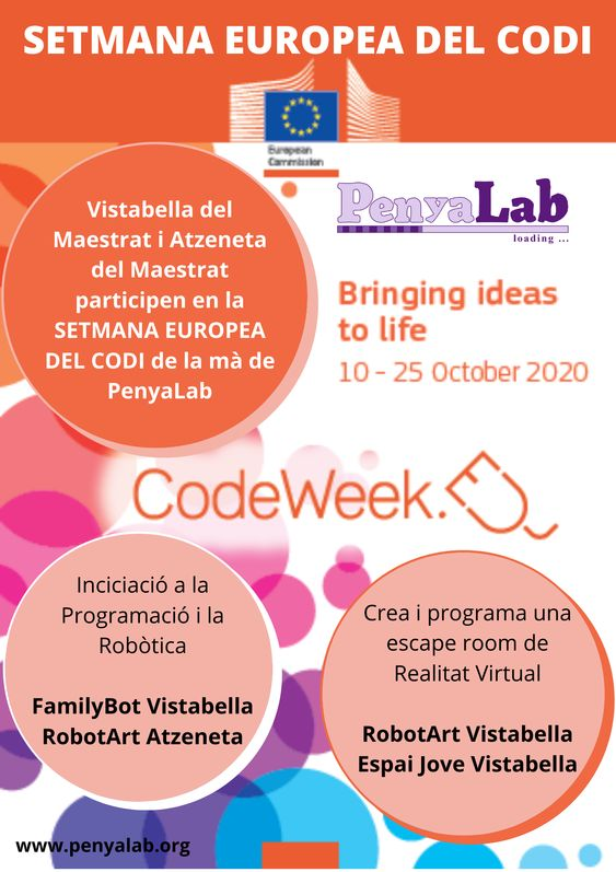 PenyaLab a la Setmana Europea de la programació 2020
