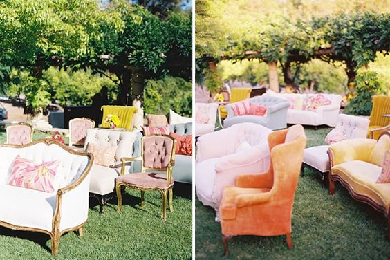 Ceremony Seating, Unique And Outdoor Ceremony On Pinterest