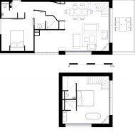 Plan Appartement Duplex 100m2 Plans De Maison Duplex Plan Maison 100m2 Plan Maison 150m2