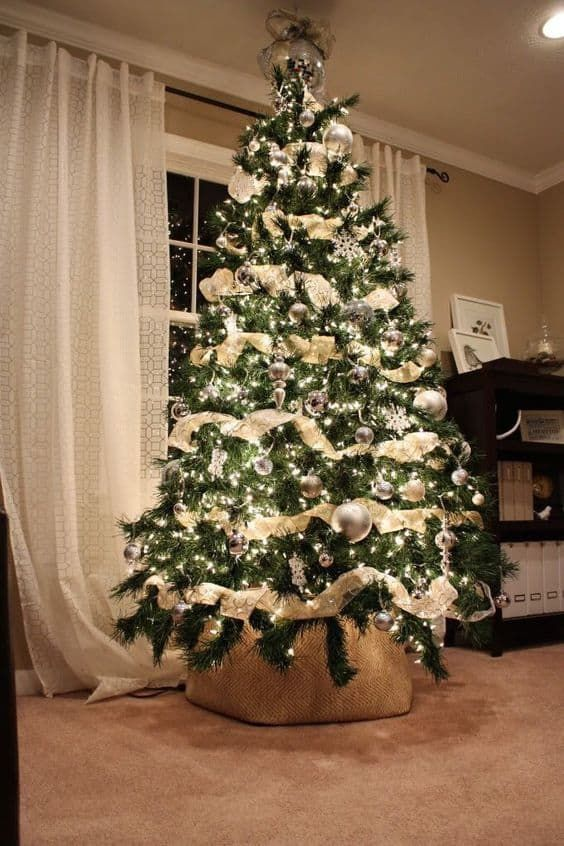 100 Christmas Tree Ideas For Your Home This Holiday Season Home Trends Magazine In 2020 Christmas Tree Inspiration Diy Christmas Tree Beautiful Christmas Trees