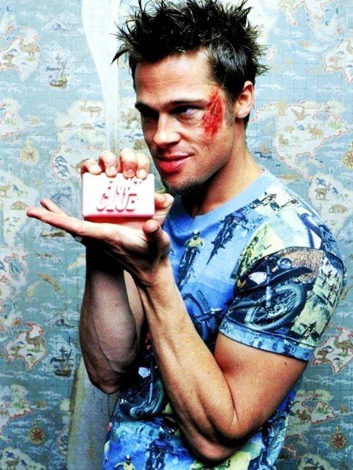 Brad Pitt - Fight Club <3