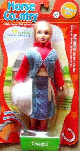 """Horse Country Adventure Rider Cowgirl Figure 6 1/2"""" by Empire Toys. $11.00. Horse Country Adventure Rider Cowgirl Figure 6 1/2"""""""