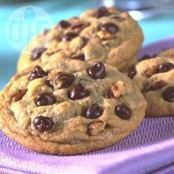 Cookies gigantes de chocolate @ allrecipes.com.br