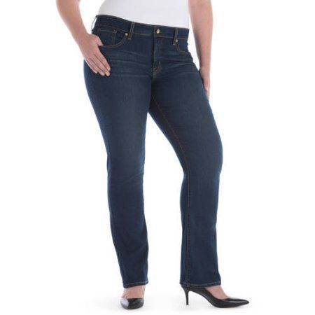 Size Signature by Levi Strauss ; Co.;; Women's Plus Totally ...