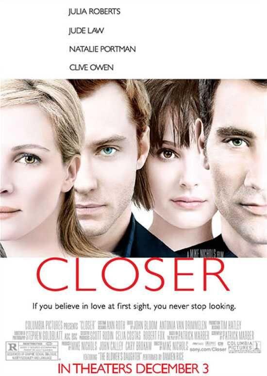 Closer Perto Demais Closer Movie Good Movies Julia Roberts
