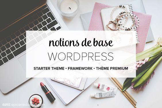 Notions de base sur les thèmes Wordpress