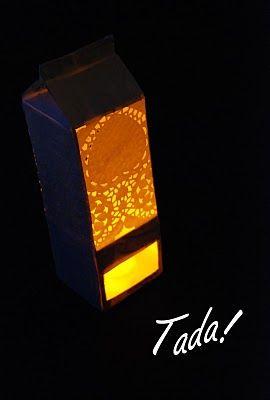 Garden Lights via blah to TADA
