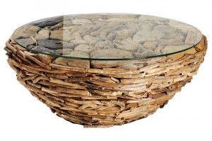 table basse originale bois flotte - Idée déco dhellineIdée déco d ...