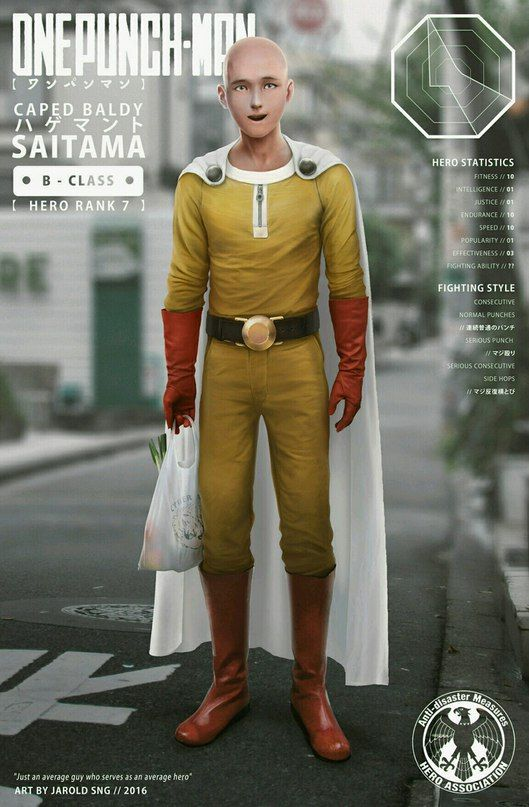 One Punch Man • #opm #saitama