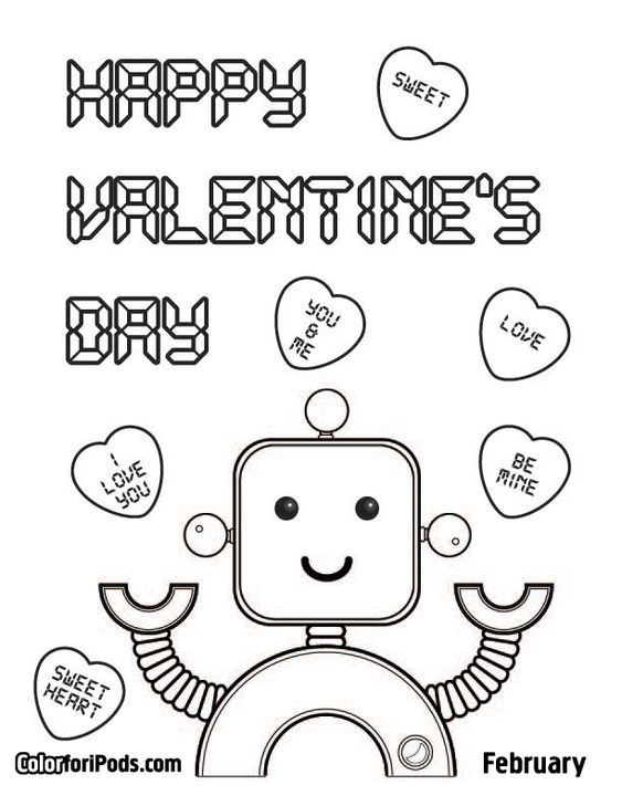 valentine 39 s coloring pages Valentine s Day Coloring